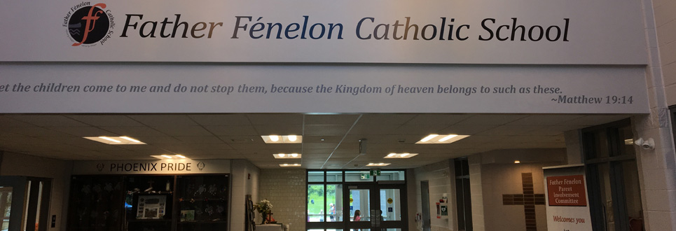 Front lobby of Father Fénelon